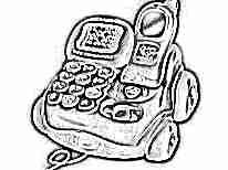 Игрушечный телефон для ребенка в 1 год