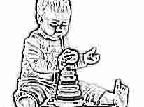 Развивающая пирамидка для ребенка 1 года