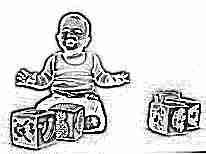Развивающие кубики для ребенка 1 года