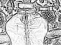 Пошив пеленки-матрешки на липучках для новорожденных своими руками