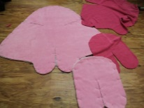 Пошив пеленки-кокона на липучках для новорожденных своими руками