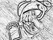 Переноска для новорожденных Brevi Smart Silverline