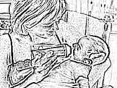 Как правильно кормить из бутылочки новорожденного