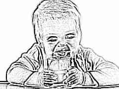 Со скольки месяцев можно давать ребенку кефир