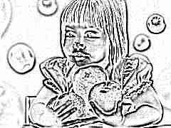 Меню ребенка в 3 года: принципы питания