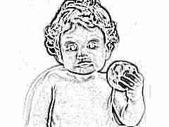 Яблоко ребенку в прикорм