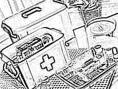 Аптечка для новорожденного