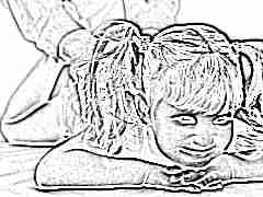 Массаж от кашля для девочки