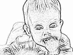 Киста на десне у ребенка
