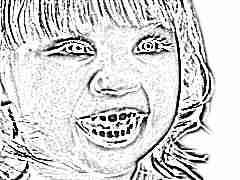 Сколько молочных зубов должно быть у детей?
