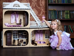 Игровые кукольные домики для девочек