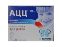 Порошок «АЦЦ 100» для детей: инструкция по применению