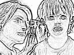 Антибиотики при отите у детей