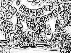 Меню на детский день рождения 4-6 лет