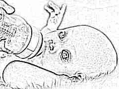 Особенности и объем желудка новорожденного