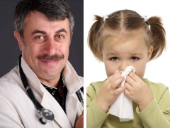 Сопли без температуры у ребенка комаровский thumbnail