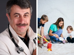 Доктор Комаровский о пользе соляной пещеры