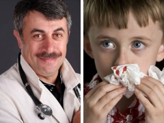 Е. Комаровский о том, почему течет кровь из носа у ребенка