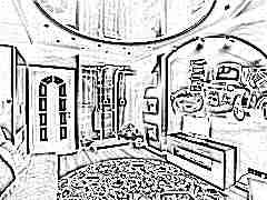 Потолок для детской комнаты мальчика