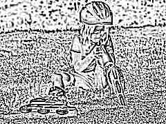 Чем обработать рану у ребенка после падения?