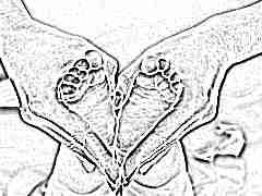 Массаж при плоскостопии у детей