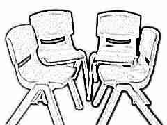 Детский пластиковый стул: виды и особенности