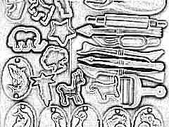 Инструменты для пластилина