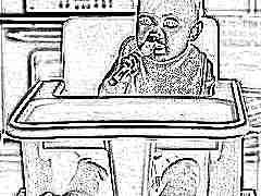 Компактный стульчик для кормления