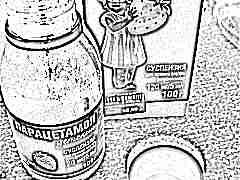 Парацетамол для детей 2 лет