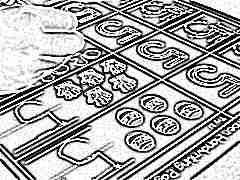 Учим ребенка правильно писать цифру 5
