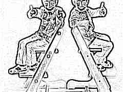 Растущий стул Kid-Fix