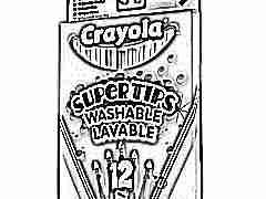 Детские фломастеры Crayola: плюсы и минусы