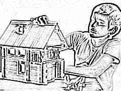 Деревянные конструкторы «Дом»: многообразие моделей и особенности выбора