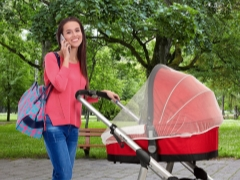 Как выбрать москитную сетку на коляску и как ее закрепить?
