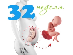 Расположение плода на 32 неделе 42