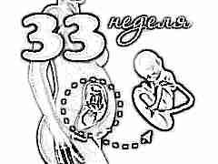 Развитие плода на 33 неделе беременности
