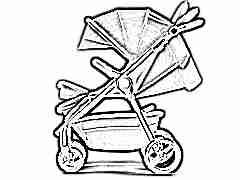 Как выбрать прогулочную коляску с большим капюшоном?