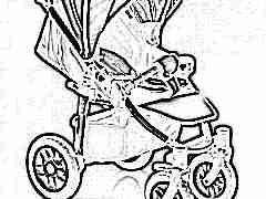 Особенности прогулочных коляскок с надувными колесами