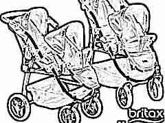 Модельный ряд колясок фирмы Britax Romer