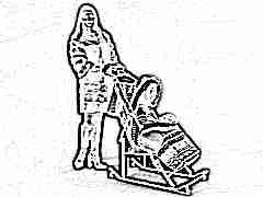 Выбираем санки-коляски для ребенка