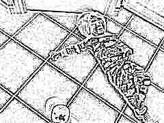 Что делать, если ребенок упал на спину?