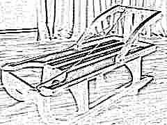 Деревянные санки: виды и советы по изготовлению