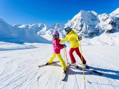 Как подобрать детские горные лыжи?