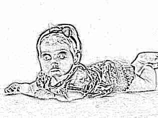 Девочка в 8 месяцев