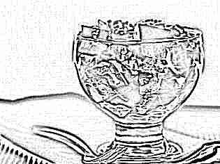 Зимний фруктовый салат с йогуртом