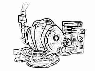 Компрессорный ингалятор детский рыбка