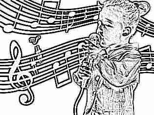 Ребенок поет в 4 года