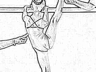 Ребенок в балете в 7 лет
