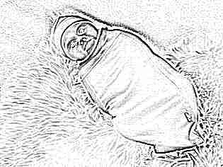 Кокон пеленка для новорожденных