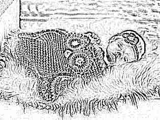 Кокон для новорожденных вязать самим